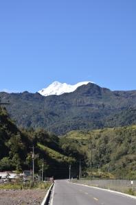 Antisana from Papallacta, Ecuador