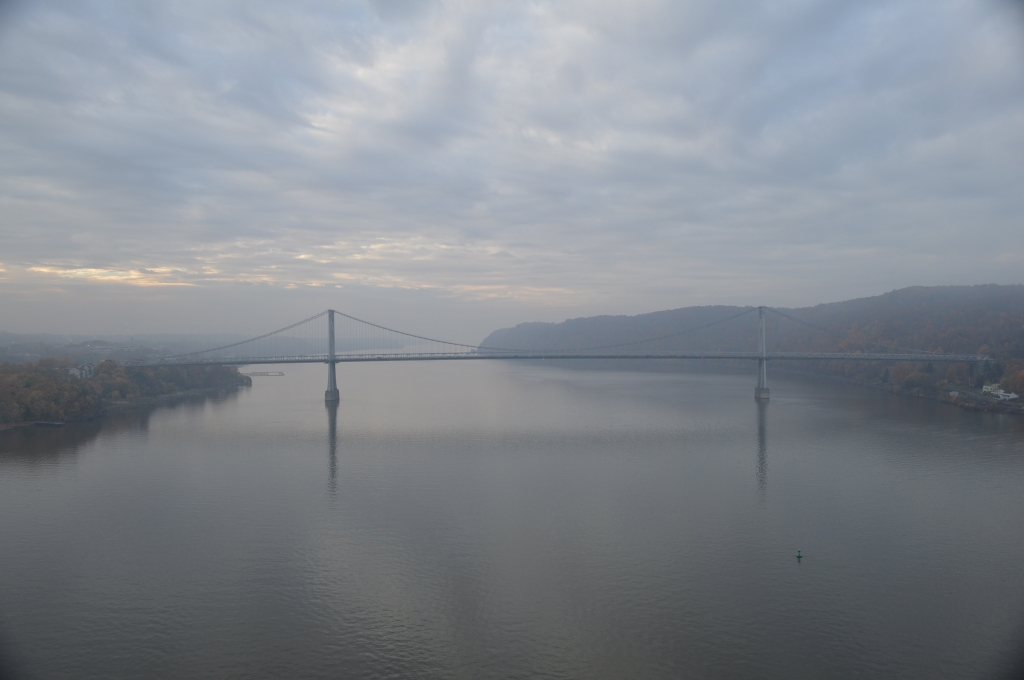 Mid-Hudson Bridge from the Hudson Walkway