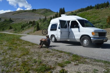 Near Cottonwood Pass